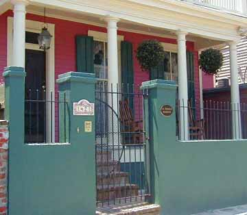 The La Maison Marigny in New Orleans